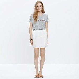 Madewell High Summer Mini Skirt